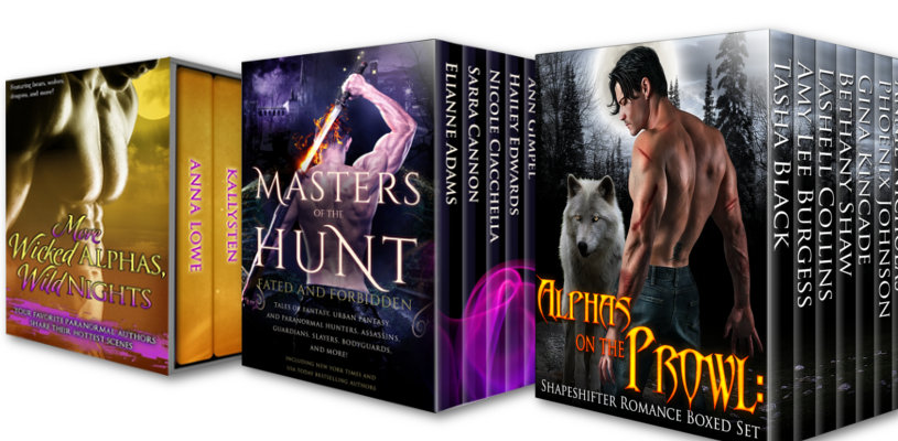 Multi-author Boxed Sets banner image