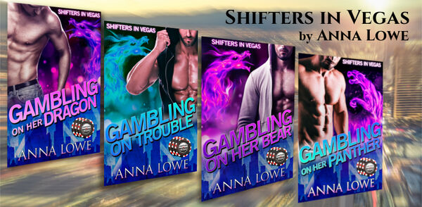 Shifters in Vegas series banner image