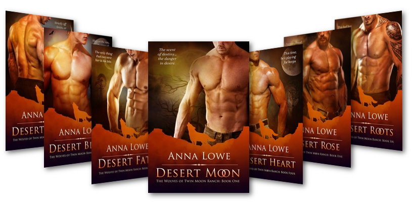 The Wolves of Twin Moon Ranch series banner image
